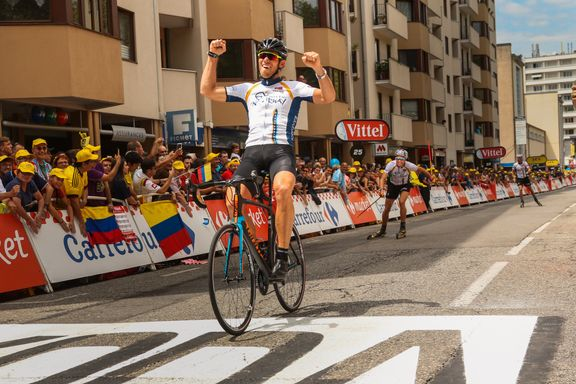 Endelig en nordmann først over mållinjen i Tour de France