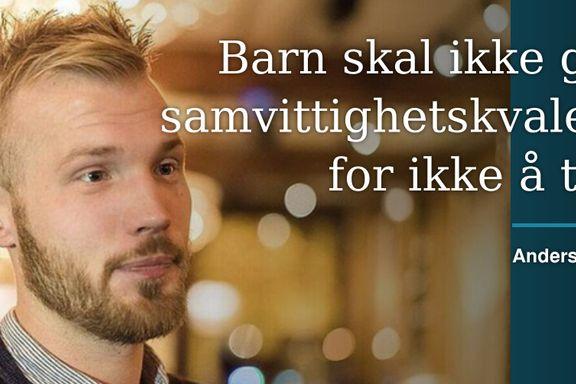 Som barn levde jeg i en evig kamp for å bli god nok for Gud   Anders Torp