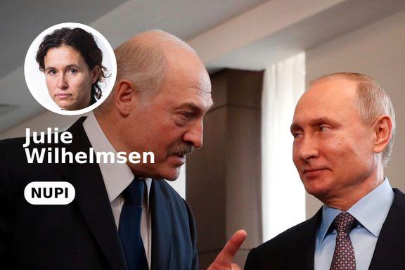 Ved flere korsveier har Lukasjenko vist seg å være en gjenstridig lillebror