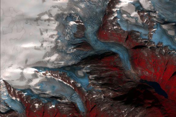Satellitter overvåker norske isbreer. Det er det gode grunner til.