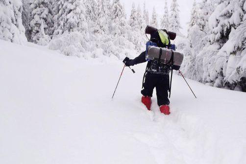 Gikk i skisporene til bestefar og krigshelt Fredrik Kayser: Tidenes tøffeste vinterferietur