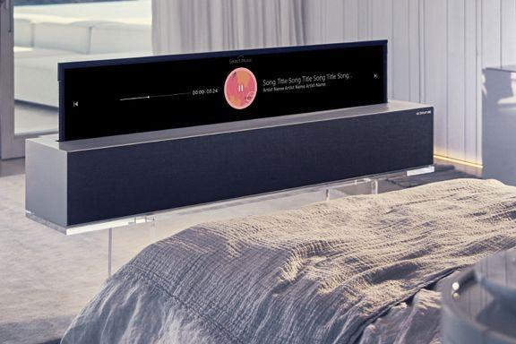 De råeste TV-ene: Opprullbar TV og Micro-LED