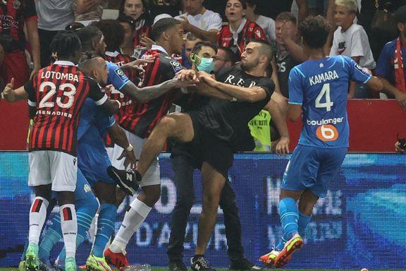 Marseille nektet å avslutte kamp etter banestorming: – Totalt uakseptabelt
