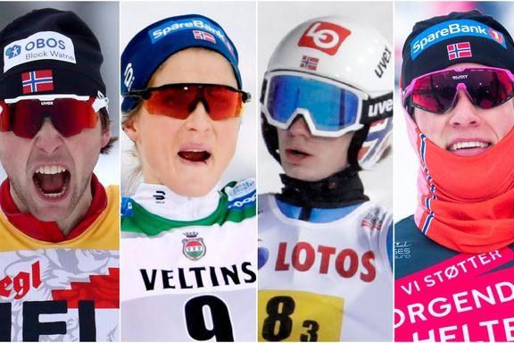 Så mange gull tar Norge
