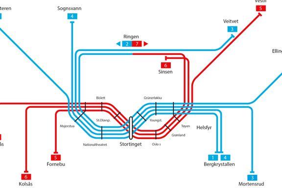 Bruker 19 mrd. på ny tunnel. Men de to viktigste stasjonene får ikke flere avganger.