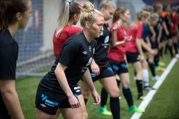 Karoline Haugland (19) spilte to juniorfinaler i NM i 2012. Fredag gjør hun det for fjerde gang.