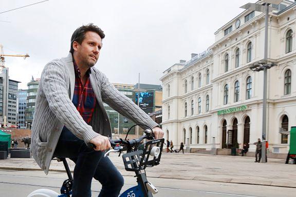 Setter ut 400 el-sparkesykler på Fornebu