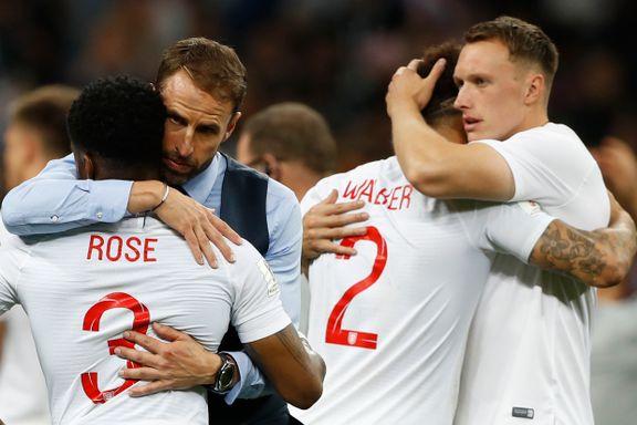 Englands VM-drøm knust: Kroatia til historisk finale