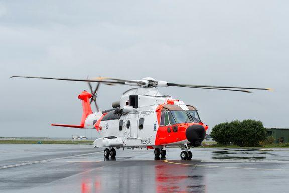Nytt redningshelikopter har ankommet Sola
