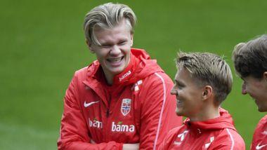 Haaland om Ødegaard-overgang: – Det er det han trenger