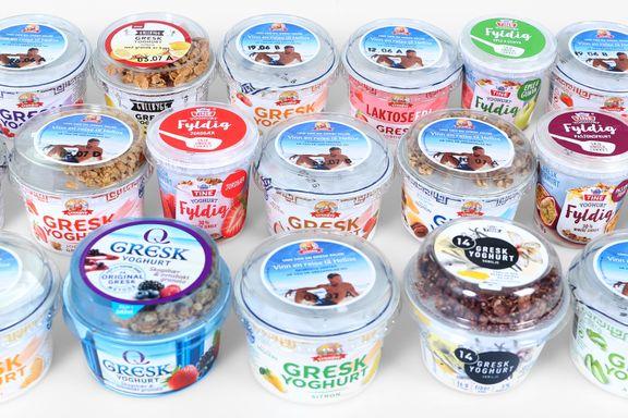 Test av gresk yoghurt: Fire får terningkast seks