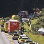 Person kritisk skadet i trafikkulykke i Asker