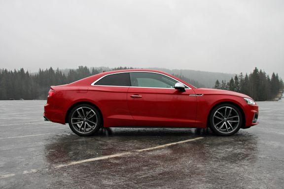 Prøvekjøring Audi A5 Coupé: Sprek, men altfor streit