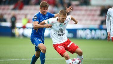 Etterlengtet jubel: Fredrikstad rykket opp med 6–0-seier
