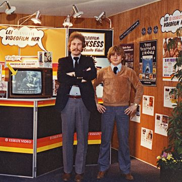 De tenkte inni boksen. Slik fikk vi film rett hjem på 80-tallet.