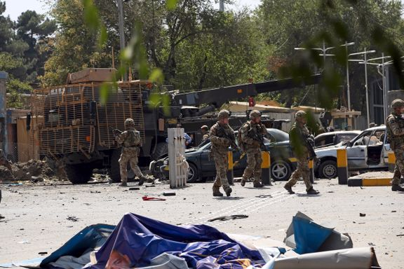 To NATO-soldater og ti sivile drept i Taliban-angrep i Kabul