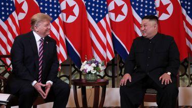 Trump til Nord-Koreas diktator: - En ære å være her