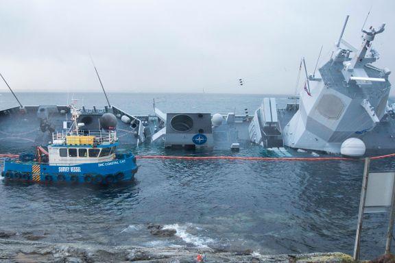 KNM Helge Ingstad: Slik bidro tre parter til havariet