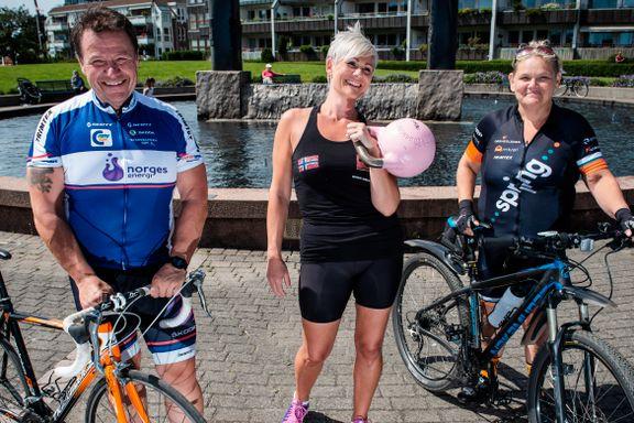 Bjørn, Gerd og Helene har til sammen slanket seg 204 kg. Slik klarte de det