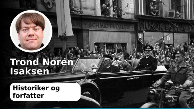 Kong Haakon valgte ikke selv å komme hjem 7. juni
