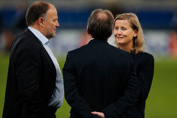 - Lazio-sjefen hilste ikke på Rosenborgs kvinnelige direktør