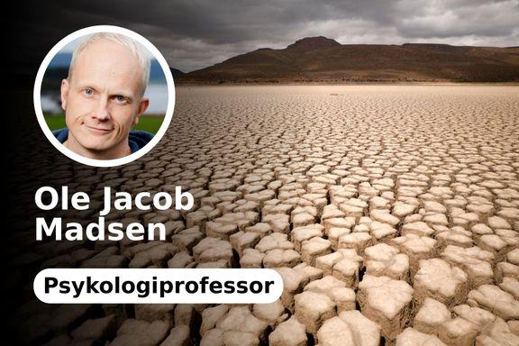 Vi trenger en værmelder for å vite hvordan klimaet endrer seg