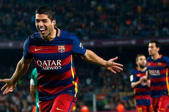 Barcelona-kalddusj på Camp Nou, så våknet Suárez