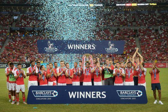 Arsenal-stjernene briljerte i Cechs debut