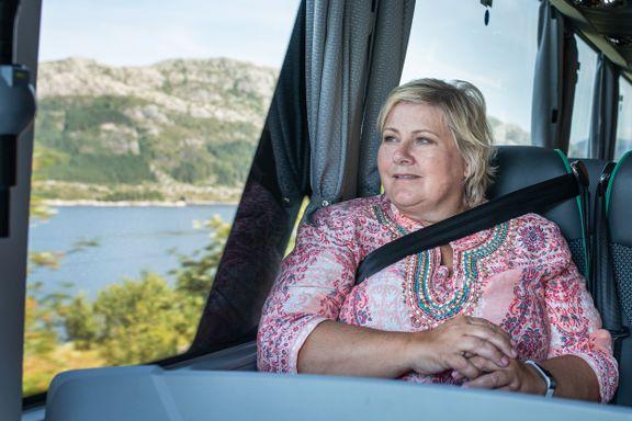 Klimaministeren hevder Erna Solbergs valgløfte allerede er vedtatt