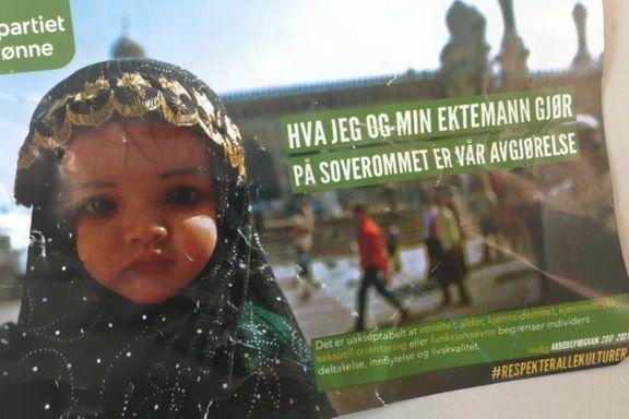 Ungdomsparti delte ut falsk MDG-reklame som støtter barneekteskap. – Rampestreker, sier partilederen.