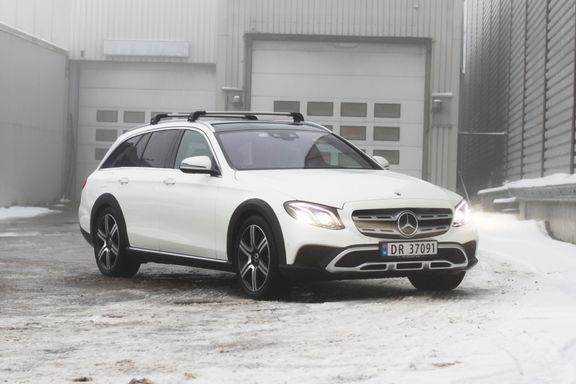 Test av Mercedes' nye familiebil: – En elegant bastard