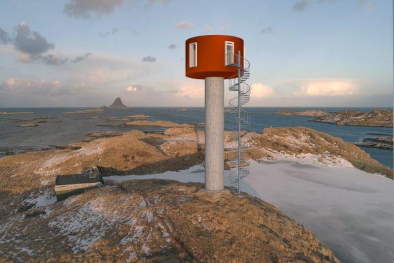 Da Per Fugelli så den gamle vanntanken i nord, fikk han en idé