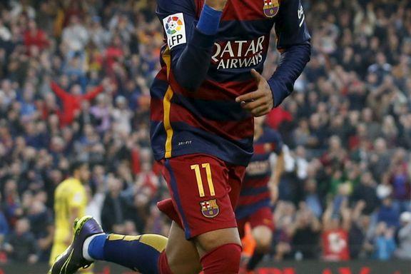 Neymar i kjempeform da Barcelona vant igjen