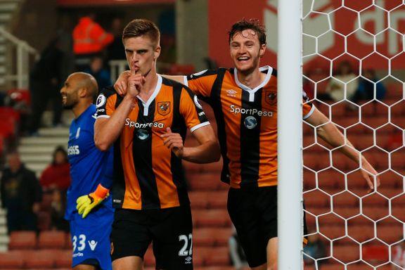 Markus Henriksen matchvinner på overtid i Hull-debuten