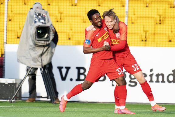 Andreas (16) ble den yngste til å score to mål i en kamp i den danske Superligaen: – En helt spesiell spiller