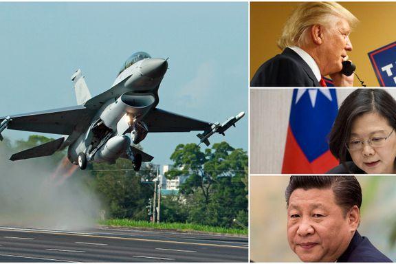 Donald Trumps Taiwan-samtale kan snu opp-ned på forholdet mellom verdens to mektigste land