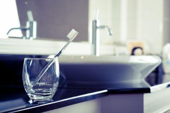 Derfor skal du kjøre tannbørsten i oppvaskmaskinen