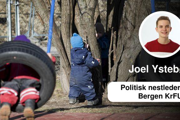 Når menneskeverdet får bestemme   Joel Ystebø