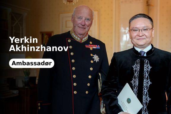 Norge ønsker en plass i FNs sikkerhetsråd. Her er et løfte om støtte fra Kasakhstan.