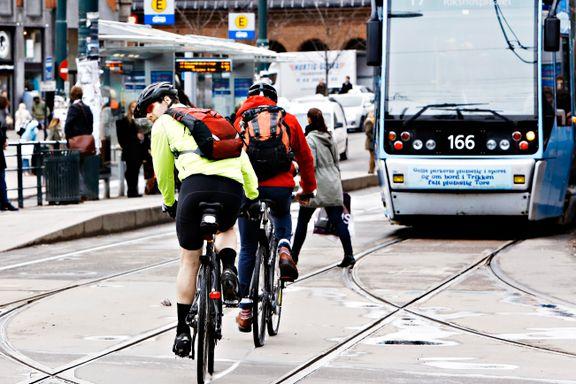 Klimautslippene i Oslo gikk ned åtte prosent på ett år