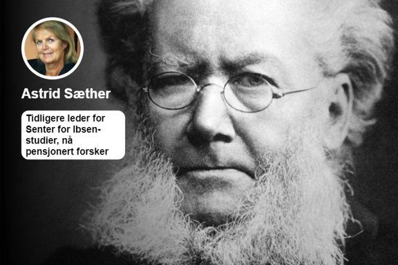 At tidligere Ibsen-biografer har beskyttet kunstnermyten Henrik Ibsen, er ikke riktig