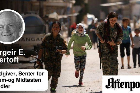En politisk løsning i Syria er den Tyrkia og Iran kan bli enige om.