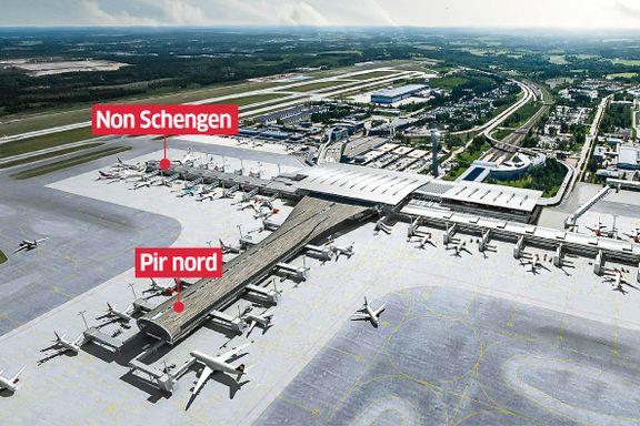 Stadig flere reiser fra Oslo lufthavn. Nå settes planene om videre utvidelse på vent.