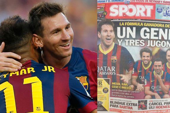 «Xavi er over toppen og Messi scorer ikke i bøtter og spann lenger»