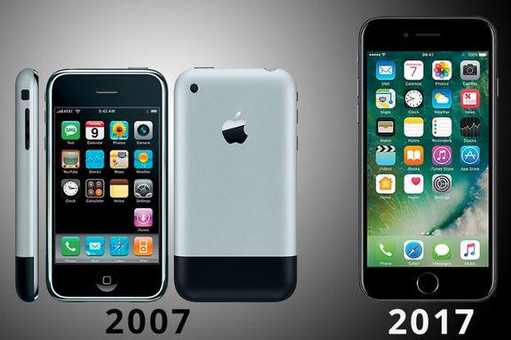 Iphone feirer 10 år