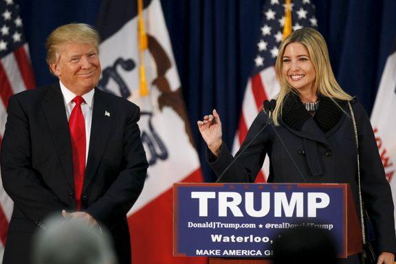 Supermodell, forretningskvinne og snart presidentdatter: Ivanka Trump (35) kan bli den virkelige førstedamen i USA.