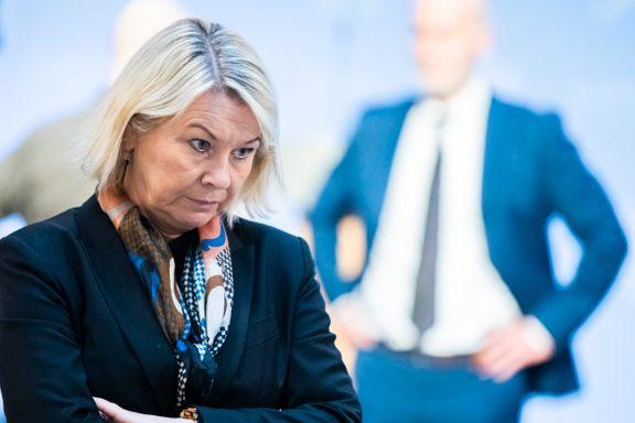 Hele politietaten hennes er mot rusreformen. Sp etterlyser justisministerens syn på saken.