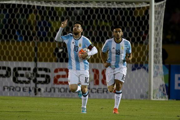 Messi-trippel sikret VM-spill for Argentina etter sjokkstart