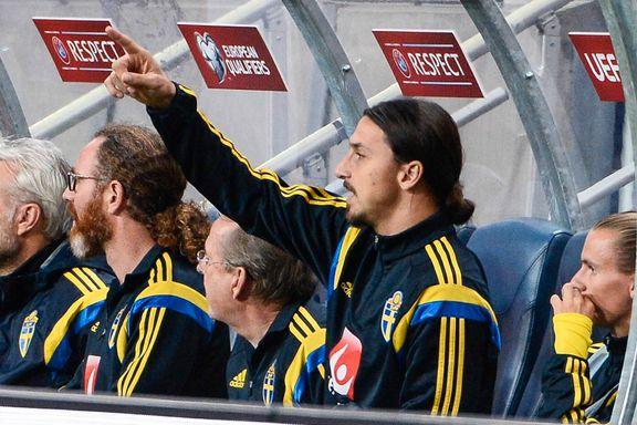 Hamrén håper Zlatan blir klar mot Liechtenstein