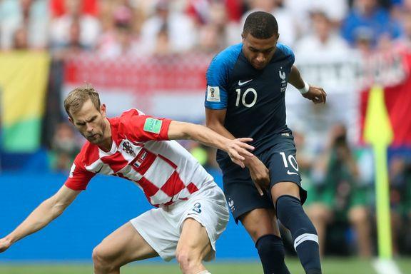 VM-finalen direkte: Frankrike vant VM etter målfest